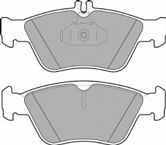 Brake Pads Front 288mm